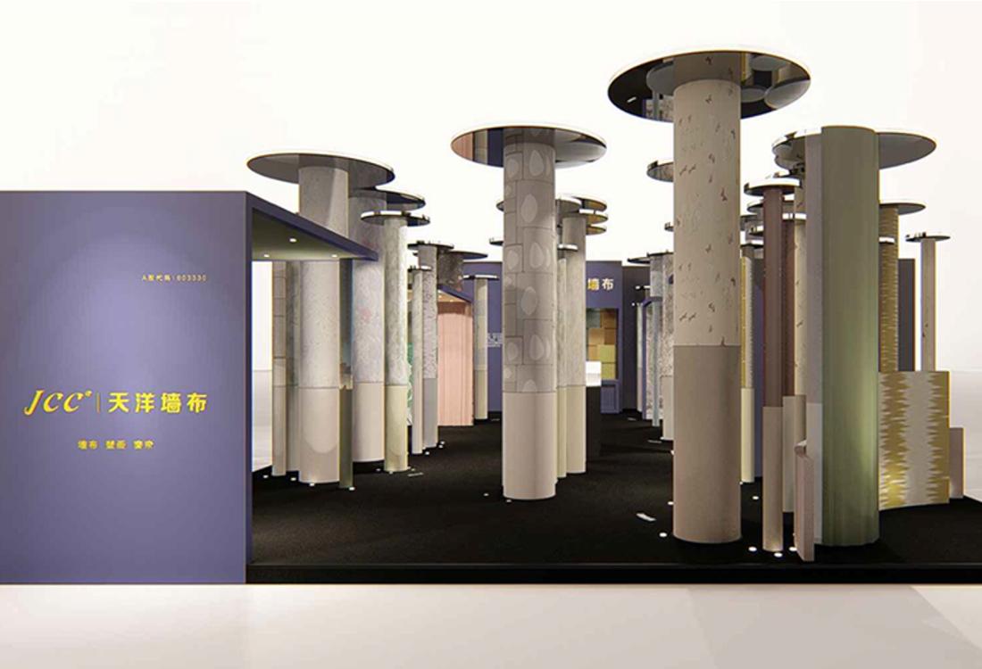 JCC天洋墙布展览会展位