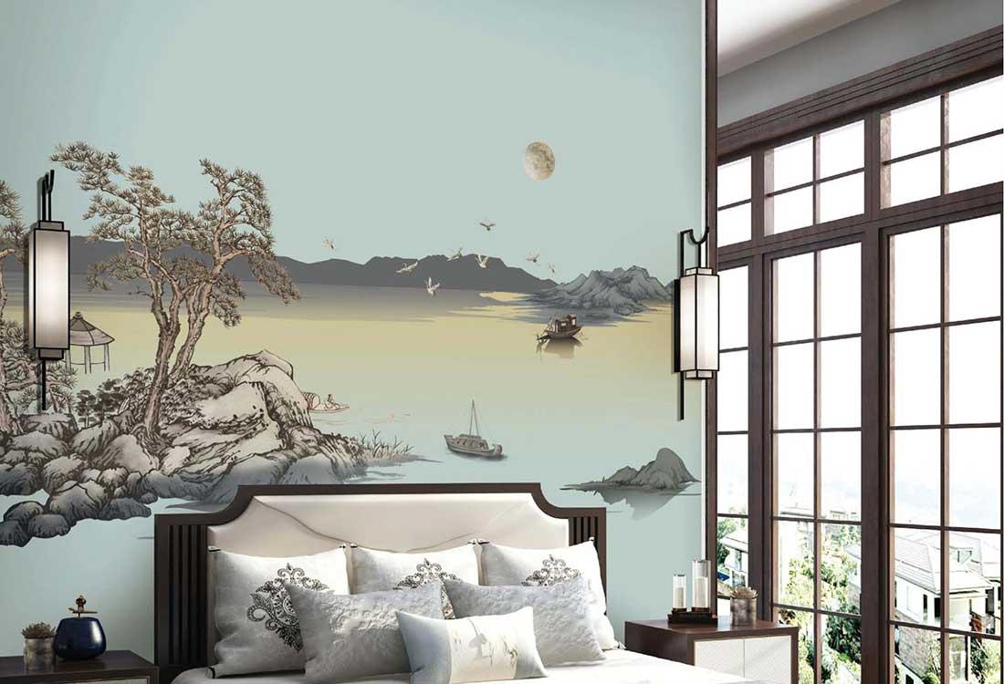 春江花月夜壁画