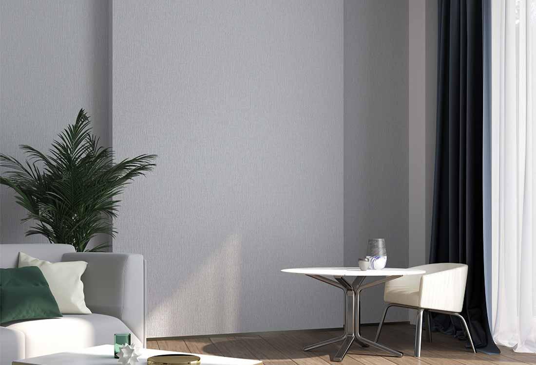 灰色素色现代轻奢无缝墙布