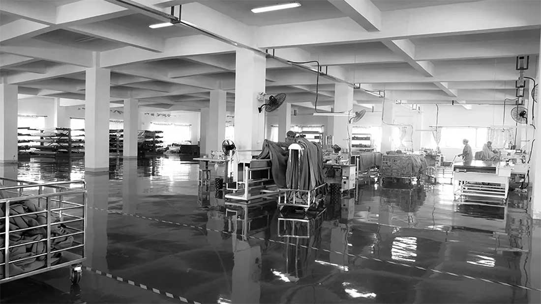 JCC天洋窗帘生产基地