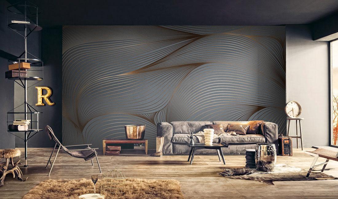 天洋墙布-现代轻奢风格壁画