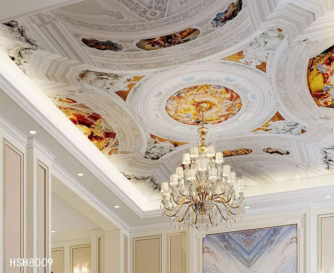 爱丽舍宫殿欧式天顶壁画