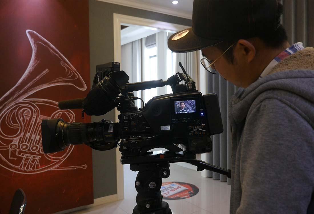 上海东方卫视采访