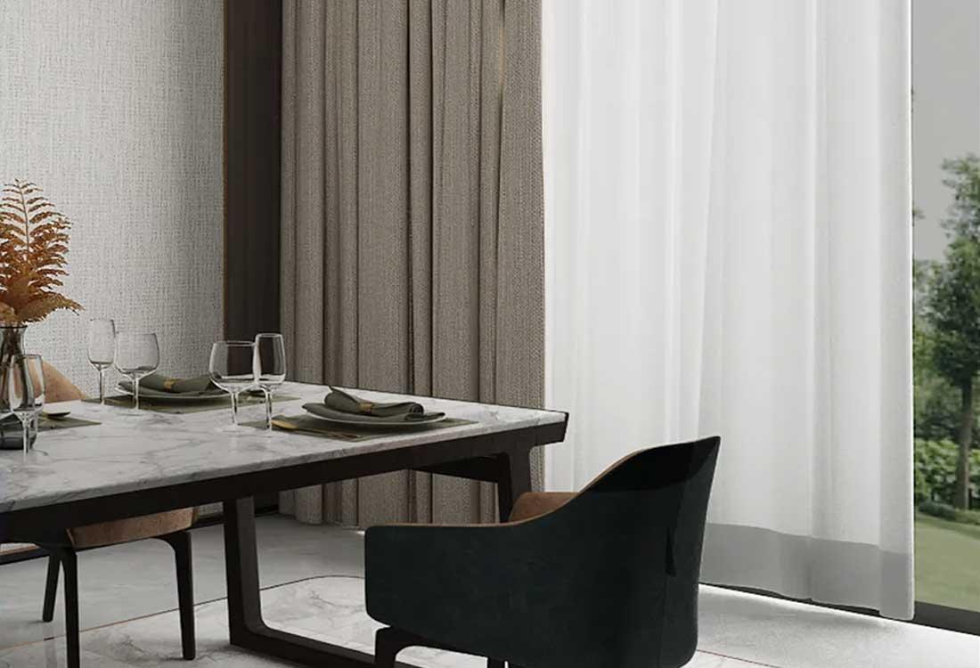 JCC天洋窗帘墙布软装搭配