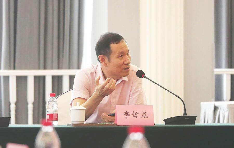 上海天洋董事长李哲龙先生