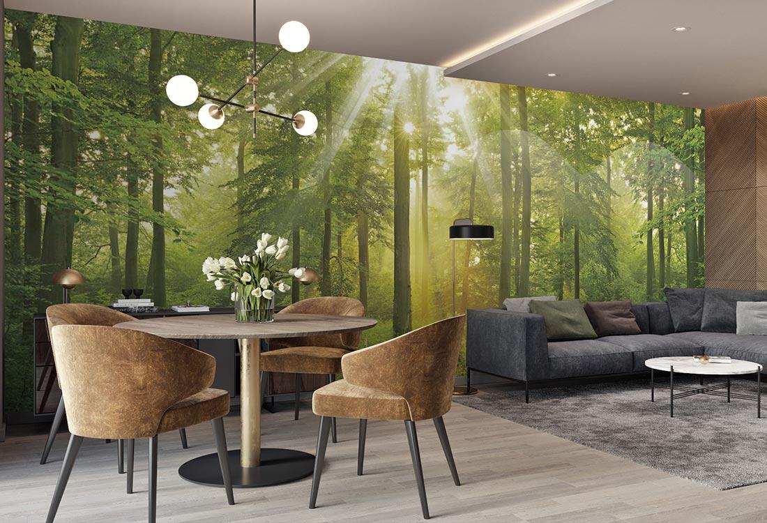 JCC天洋壁画森林系列