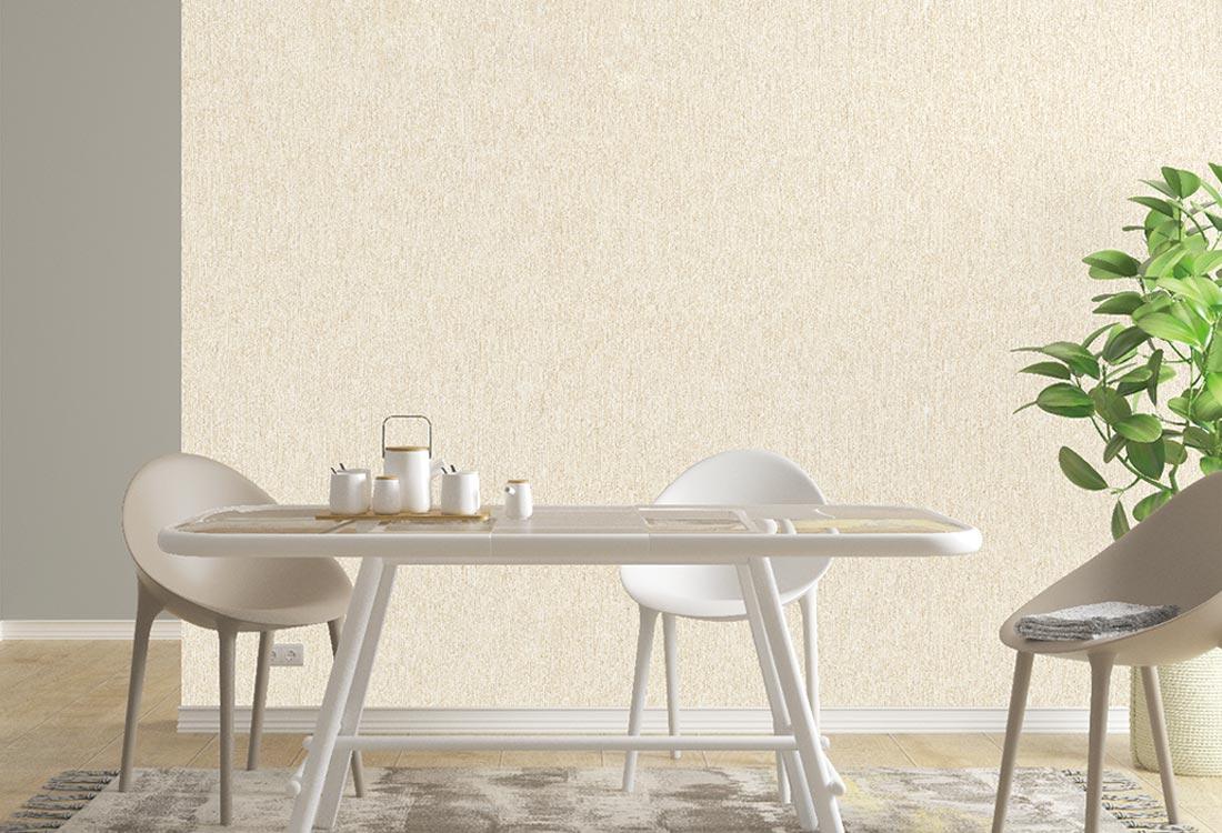 JCC天洋墙布浅黄色轻奢自然条纹墙布