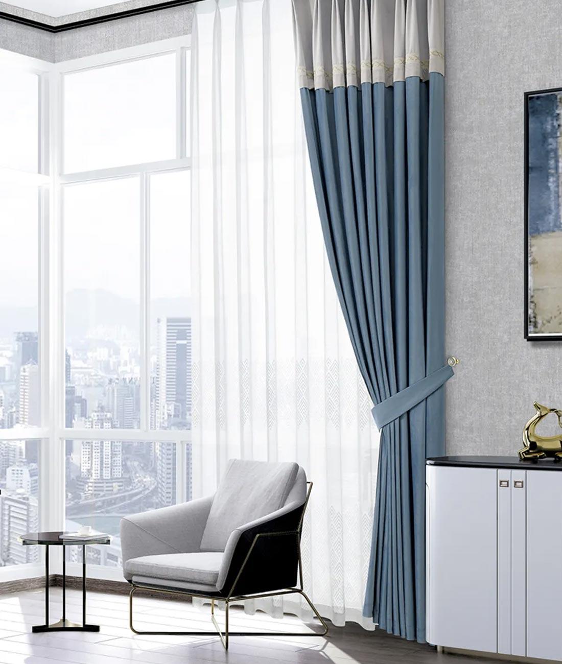 JCC天洋墙布窗帘软装搭配
