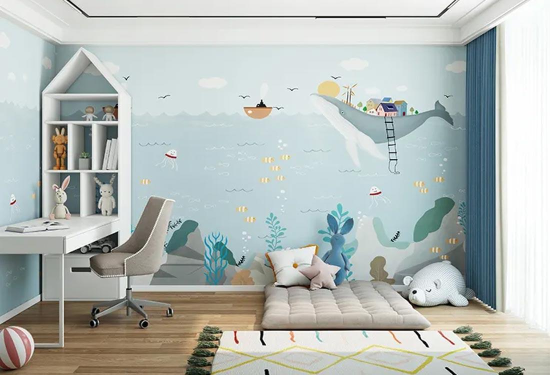JCC天洋儿童壁画海洋畅想