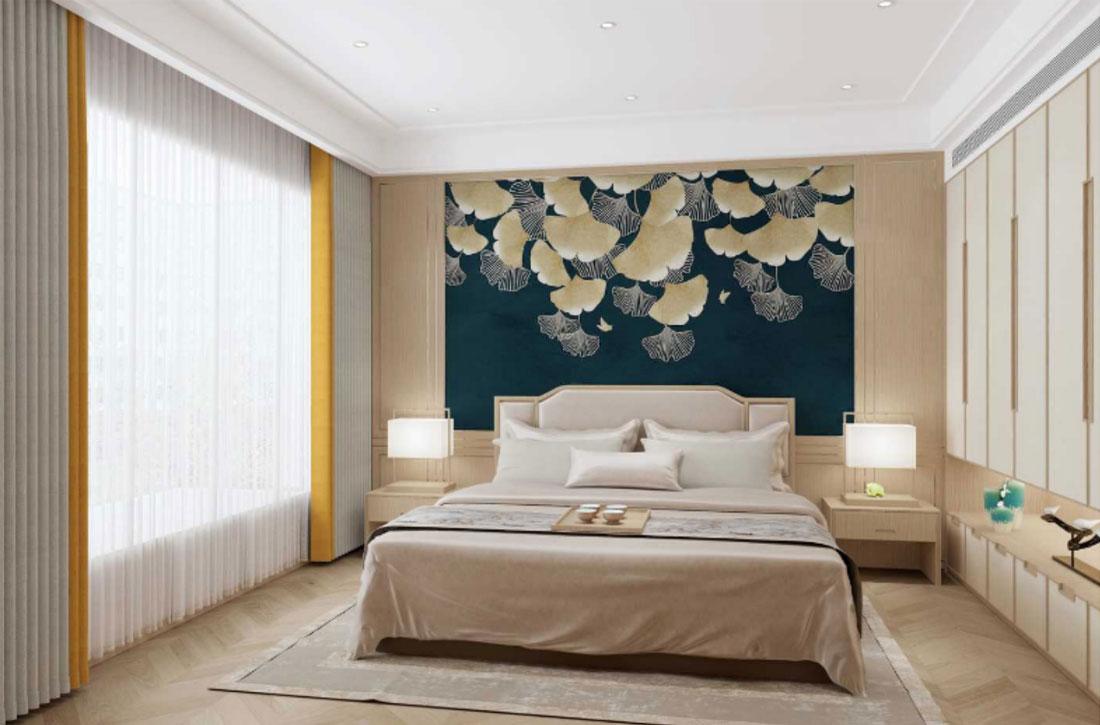 JCC天洋墙布壁画软装搭配