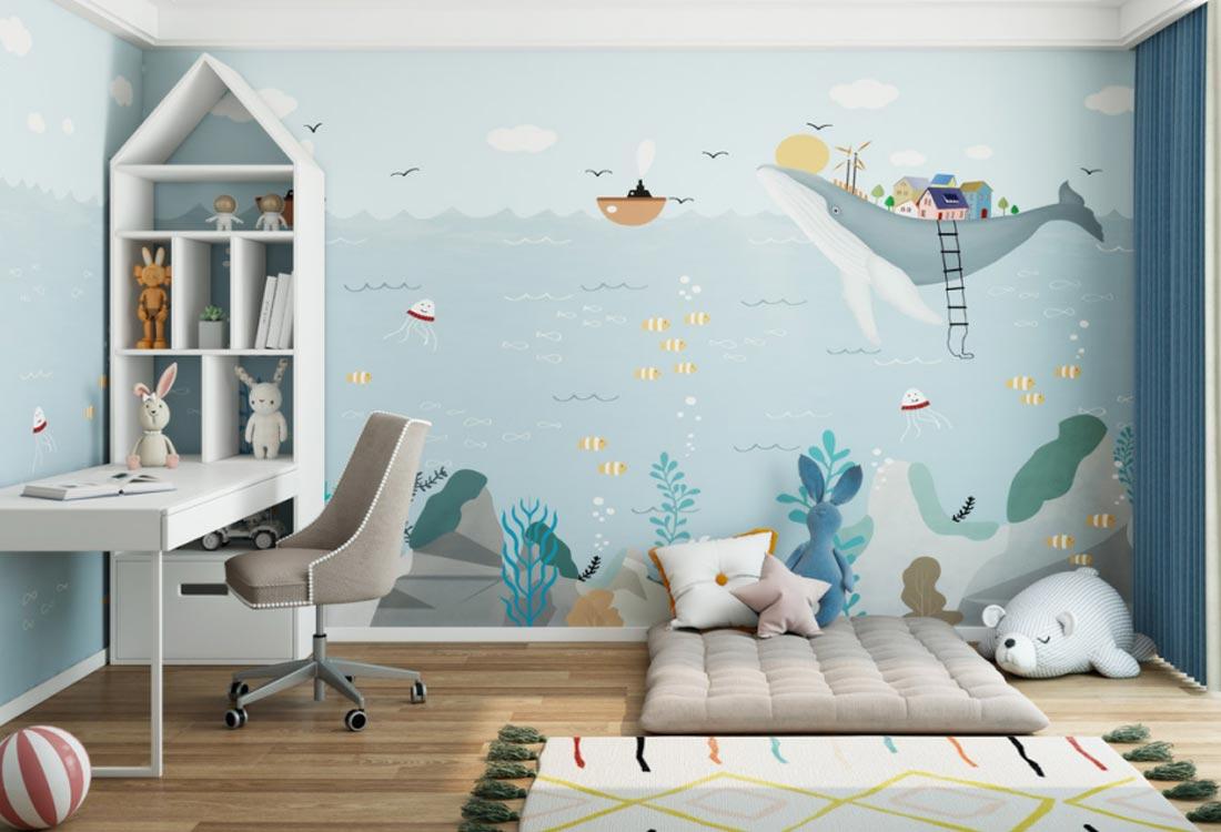 天洋墙布儿童环保壁画