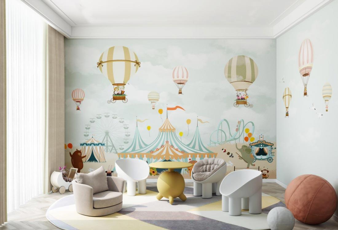 上海天洋儿童环保墙布