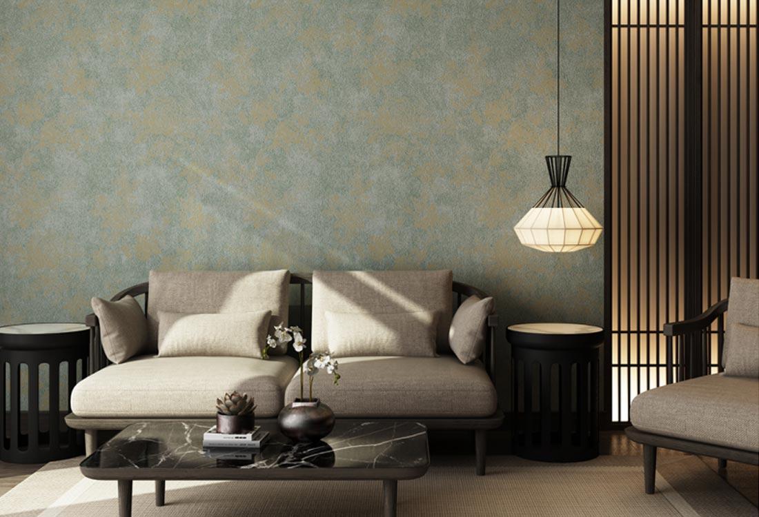 天洋墙布新中式风格墙布
