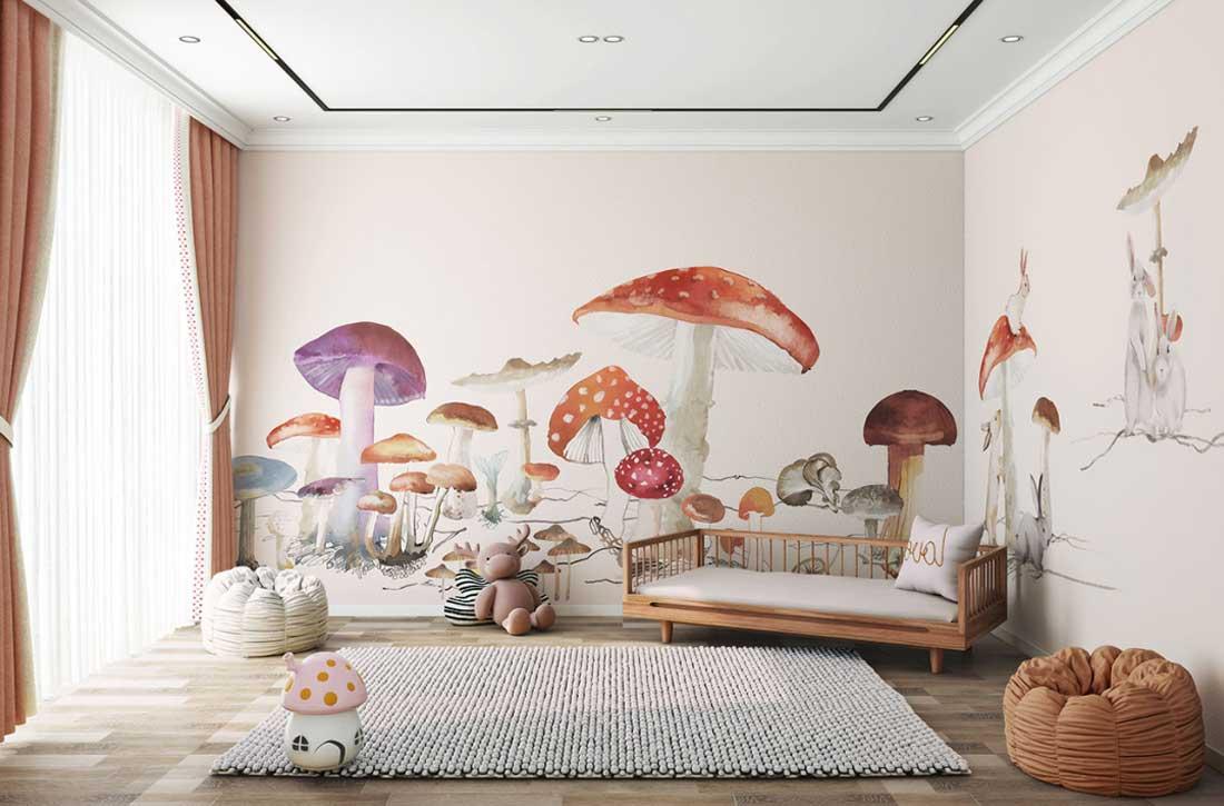天洋墙布儿童房定制壁画