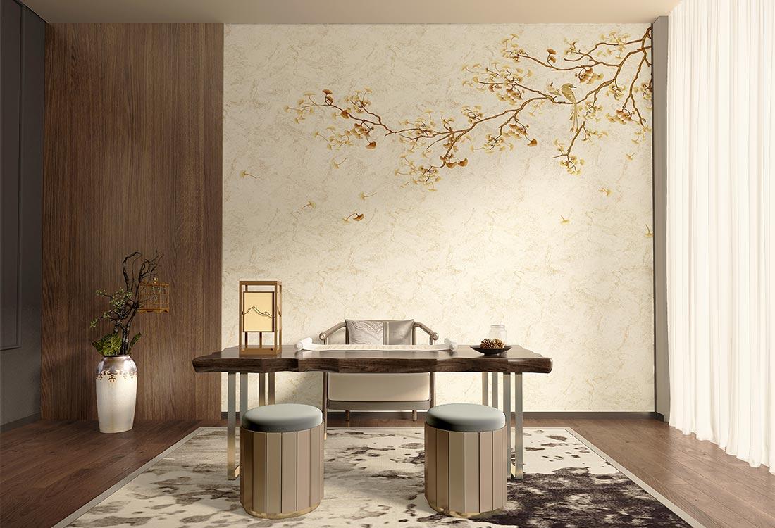 看天洋墙布,轻松辨认现代简约、混搭轻奢、新中式、欧美经典装修风格