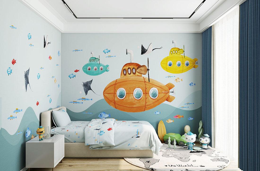 天洋儿童壁画